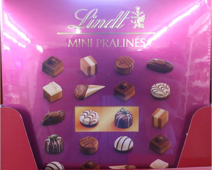 A Fine Selection of Mini Pralines.